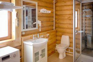 Снегири ванная комната