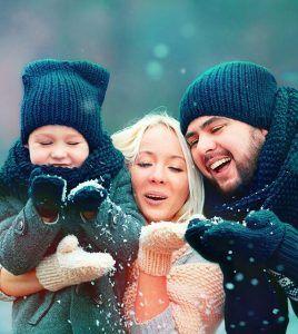 Снегири village отдых семьей